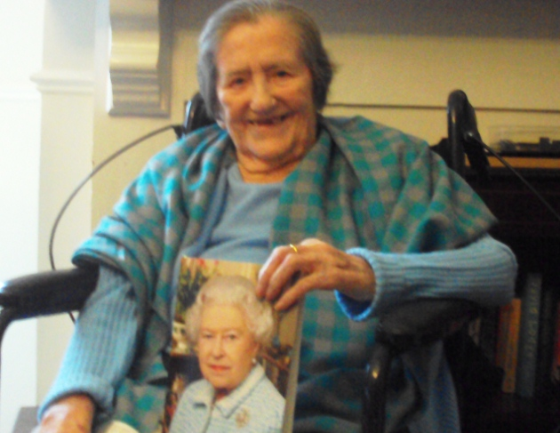 Peggy celebrates 100th birthday at Brooklands care home